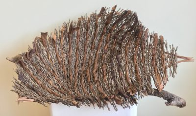 """Evolving"" Basketry Sculpture by Dee Chapon - 1"