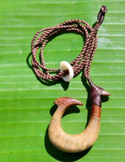 Fish Hook Necklace by Sam Grim - SAM833 - 2