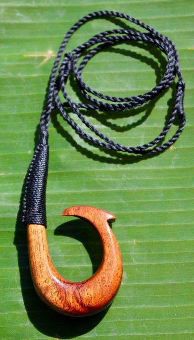 Fish Hook Necklace by Sam Grim - SAM842 - 2