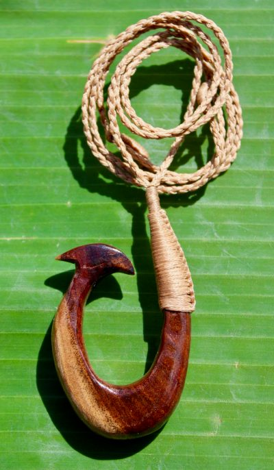 Fish Hook Necklace by Sam Grim - SAM843 - 2
