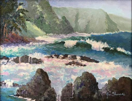 """High Surf"" by Jan Shaner"