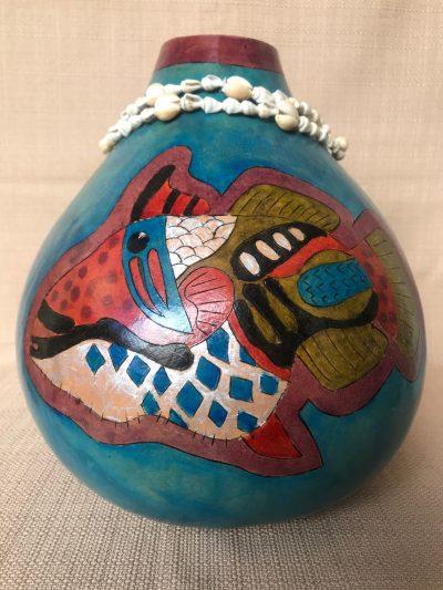 Humu Gourd by Nancy Rhoades - 1