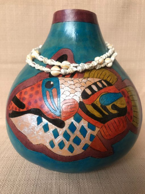 Humu Gourd by Nancy Rhoades - 3