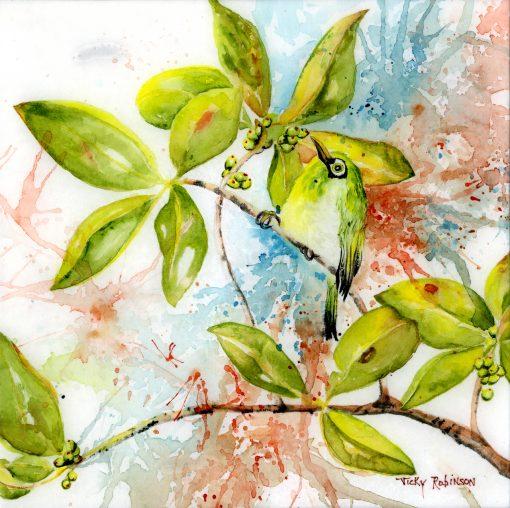 """Japanese White Eye"" by Vicky Robinson"