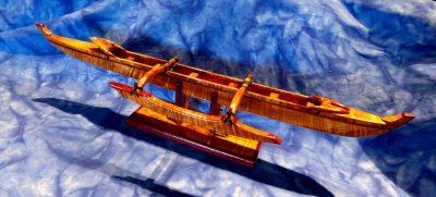 Koa Canoe by Bill Coulter - 1