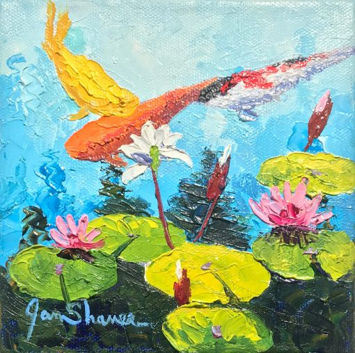 """Koi I"" by Jan Shaner"
