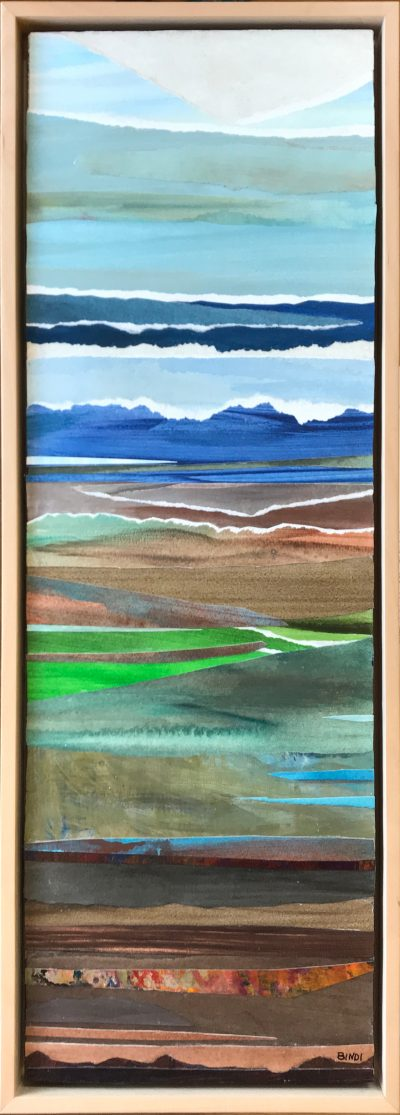 """Lyrical Landscape II"" by Nina Bindi"