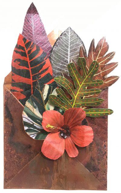 """""""Maui Montage: Hibiscus"""" by Kari Von Wening - KVW39"""