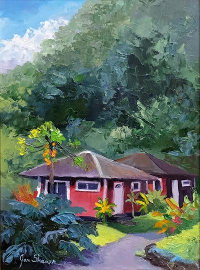 """Ripe Papayas"" by Jan Shaner"
