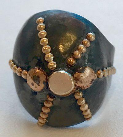 Sea Urchin Ring by Pamela Street - PKS0530
