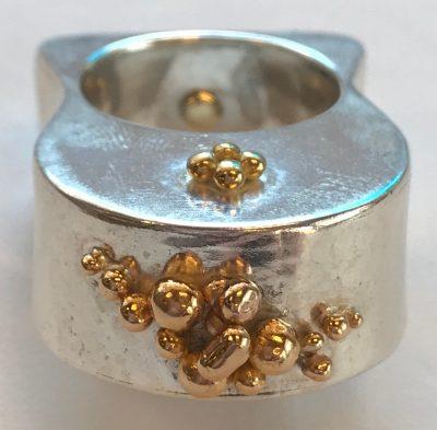 Temple Of Gold Ring by Pamela Street - PKS566