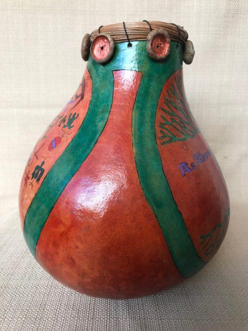 Tree Of Life Gourd by Nancy Rhoades - 4