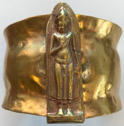 Vintage Buddha Cuff by Pamela Street - PKS5571