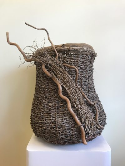 """Why Not"" Basketry Sculpture by Dee Chapon"