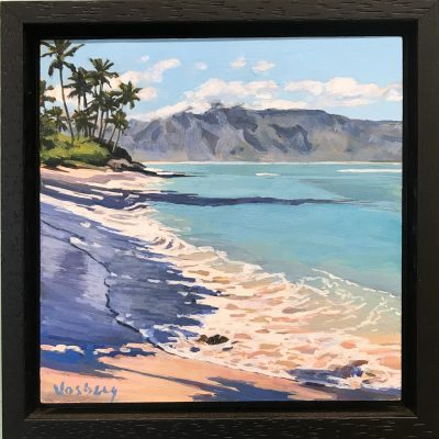 """Beach Shadows No. 7"" (Stable Road) by Stacy Vosberg - STV13"