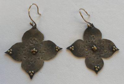Flower Drop Earrings by Pamela Street - PKS0545