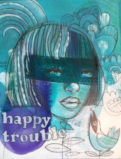 """Happy Trouble"" by Brad Huck - BMH26"
