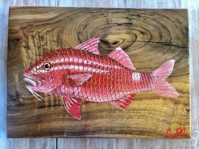 """""""Kumu (Saddleback Goatfish)"""" by Cory Palmeira - CP02"""