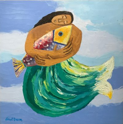 """Mermaid No. 17"" by Janet Davis - JCD096"