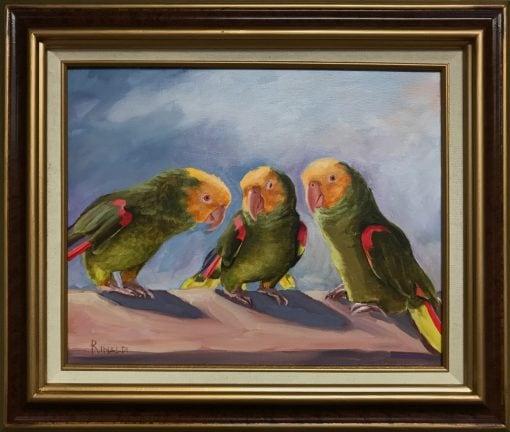 """""""Parrot Talk"""" by Steve Rinaldi - SMR211"""