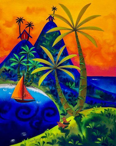"""Sunset Drift"" by Kirsten Bunney - KIB18"