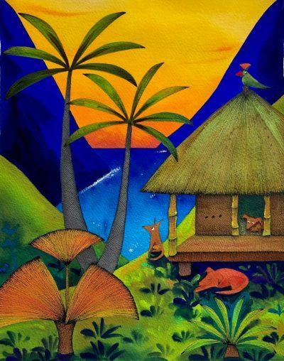 """Sunset Muse"" by Kirsten Bunney - KIB21"