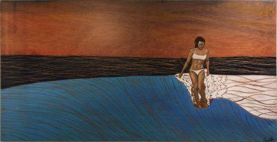 """Surfer Girl (Inspired By Kelia Moniz)"" by Cory Palmeira - CP01"