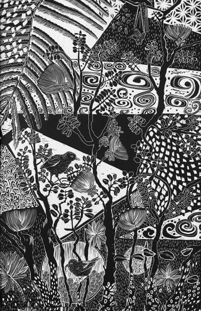 """""""Apapane"""" by Caroline Killhour"""