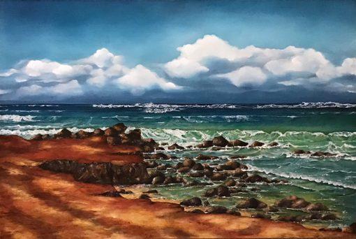 """""""Baby Beach Paia"""" by Christine Halton - CH575"""