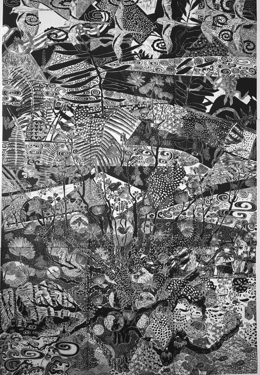 Set of 9 prints by Caroline Killhour