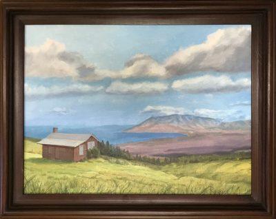 """Haleakala Cabin At Cloudbase"" by Steve Rinaldi - SMR221"