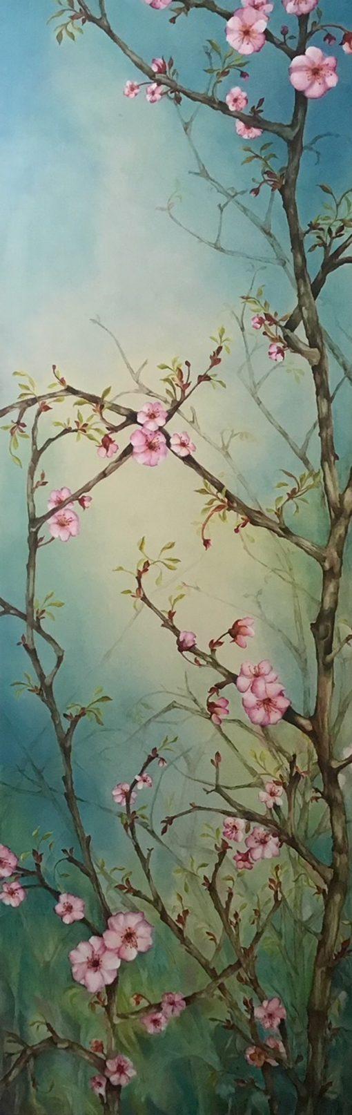 """""""Keokea Cherry Blossoms"""" by Christine Halton - CH262"""