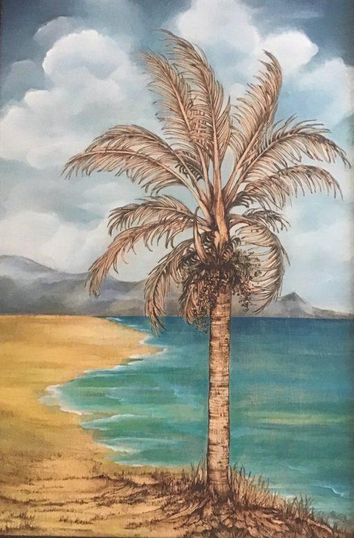 """Tradewinds Palm"" by Christine Halton - CH565"