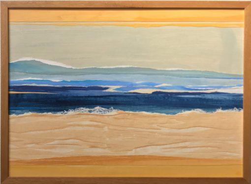 """""""Waves Are Coming In... II"""" by Nina Bindi - BIN30"""