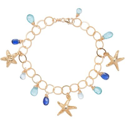 Ocean Charm Bracelet - Amata Jewelry by Ladini - Handcrafted in Hawai'i