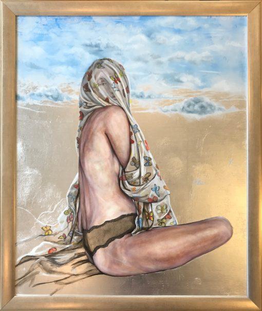 """Butterfly Veil"" by Amanda Scott - AMS219*"