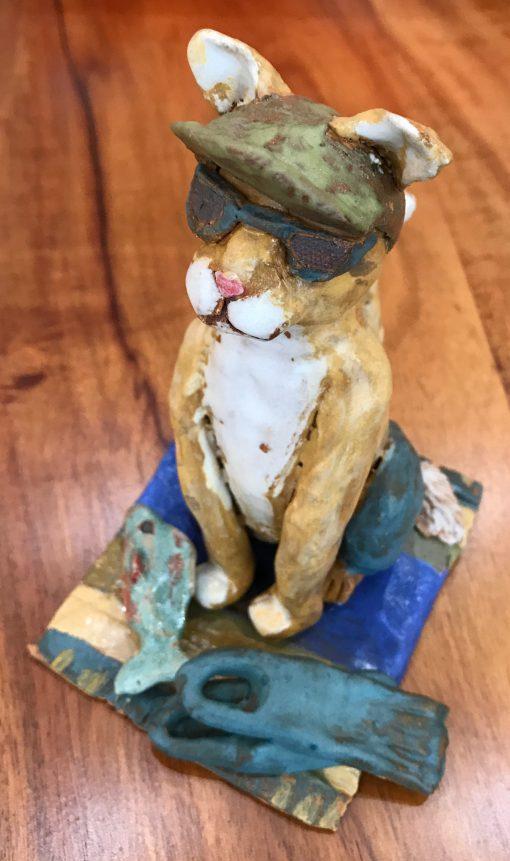 Beach Cat by Robin Fahey Cameron - Example - RFCC85