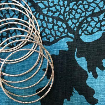 Textured Bangle by Ayo Jewelry - AYO89