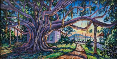 """Banyan Sunset"" by John Ensign - JCE51"