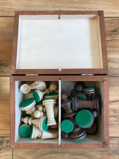 Boxed Chess Pieces