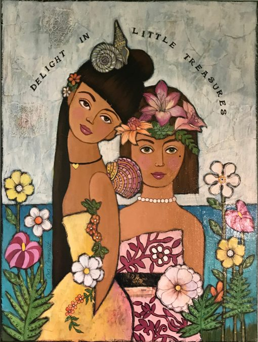 """Delight In Little Treasures"" by Cecilia Chenault - CBS043*"