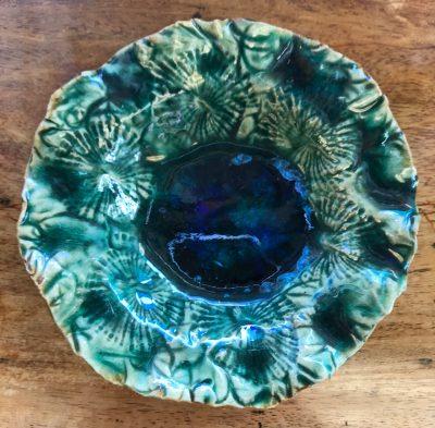 Medium Geode Bowl by Sharon Ransford - Green Example - SR98