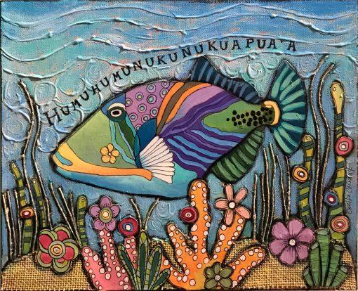 """Humuhumu Fish"" by Cecilia Chenault - CBSO160"