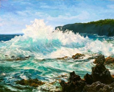 """""""Keanae Maui"""" by Betty Hay Freeland"""