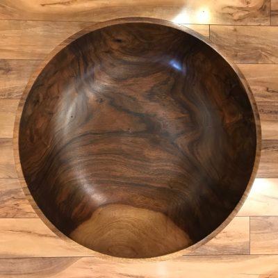 Rare Kou Wood Vessel by Roger Sanchez