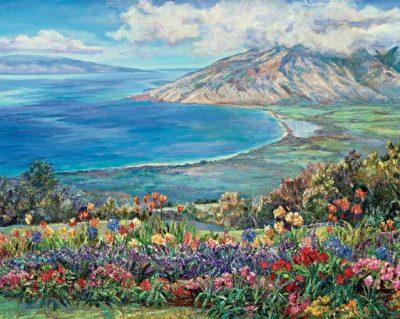 """Kula In Bloom"" by Betty Hay Freeland"
