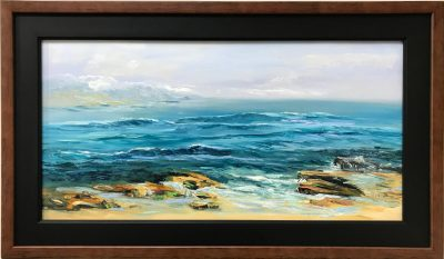 """Looking Out At Hoʻokipa"" by Jack Hamilton - JHP1373"