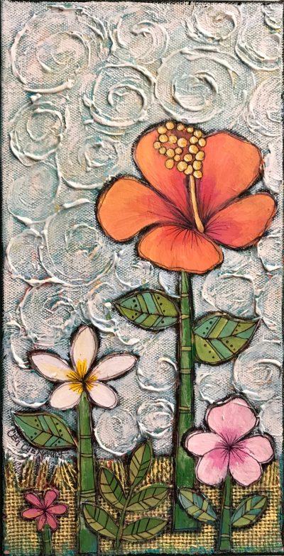 """Maui Flowers"" by Cecilia Chenault - CBS044"