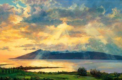 """Maui Glow"" by Betty Hay Freeland"