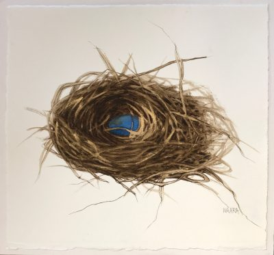 """""""Nest With One Egg"""" by Christine Waara - CW201"""
